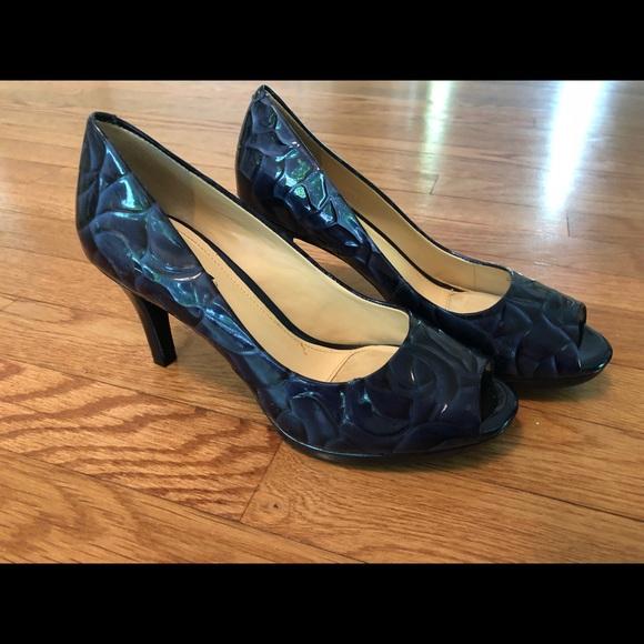 d1e31948e73 Alex Marie (Dillard's) Navy Blue Heels